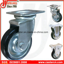 3 Inch to 8 Inch Japanese Rubber Caster